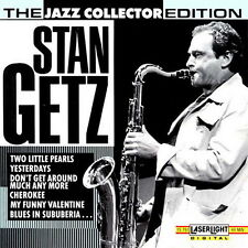CD album Stan Getz the Jazz Collection Edition (two little Pearls) 90`s