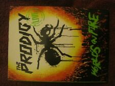 THE PRODIGY Live World's On Fire PROMO DVD 2011 Cooking Vinyl freeUKpost