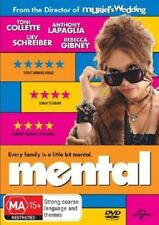 MENTAL (Toni COLLETTE Anthony LAPAGLIA Rebecca GIBNEY) Aussie COMEDY DVD Reg 4