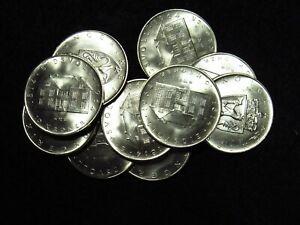1964 Norway 10 Croner CHOICE+ BU SILVER (1 COIN)