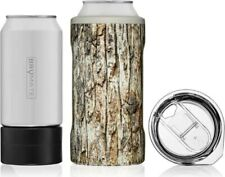 Hopsulator Trio 3-in-1 Stainless Steel Insulated Can Cooler by Brumate, Camo