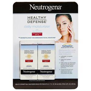 Neutrogena Healthy Defense Daily Moisturizer with SPF50 (1.7 fl. oz., 2 pk.)