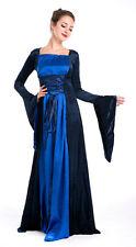 Costume dama rinascimento carnevale halloween maschera vestito abito LARP GRV