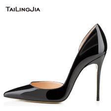 Women Ladies Stiletto Heels Pointed Toe Shoes Court Shoes Party Pumps Size