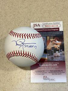 Mark McGwire signed OML baseball ** w/ STL HOF 2017 inscription ** JSA **