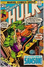 Incredible Hulk 193 November 1975 Very Fine Verses Doc Samson