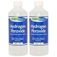Food Grade Hydrogen Peroxide - 11.99% Solution - 1000ml - from Bob's Best
