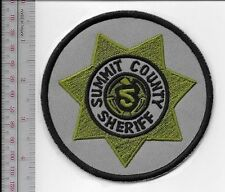 Police Utah Summit County Sherriff Department SWAT Tactical Grey Patch