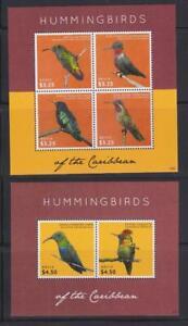 NEVIS 2013 BIRD STAMPS HUMMINGBIRDS SS MNH - BIRDL141