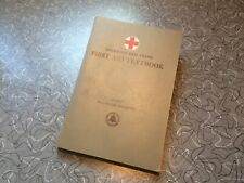 1945 Bell System Employees - American Red Cross First Aid Book At&T Telephone