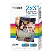 50 Sheet Polaroid Media Premium Zink Photo Paper Mobile Printers Zip Snap Camera