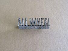 Scout 80 All Wheel Drive Emblem Scout 800 1961-1971