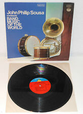 JOHN PHILIP SOUSA Conducts Band Music of the World 1960 USA LP 1915 Recordings