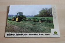 126969) John Deere Mähaufbereiter Prospekt 08/2001