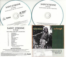 SAINT ETIENNE So Tough Deluxe Edition UK 32-trk watermarked promo test 2-CD
