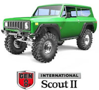 Redcat Racing GEN8 V2 Scout II 1/10 Scale Brushed Electric RC Crawler Green NEW