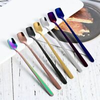 Ice Cream Rainbow Coffee Upscale Dinnerware Spoons Scoop Utensils Tableware