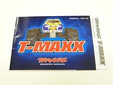NEW TRAXXAS T-MAXX 2.5 Manual RW24
