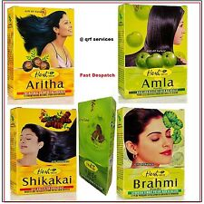 Herbal Hair Growth Skin Care Anti Dandruff Amla Shikakai Brahmi Aritha Powder