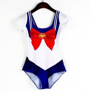 Sailor Moon Swimsuit. Anime Swimsuit. Halloween Costume
