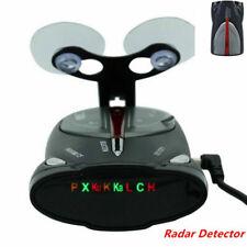 Black 16-Band Radar Detector Xrs 9880 Laser Anti Radar Detectors for Car Driving