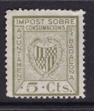 ESPAÑA - GUERRA CIVIL - BADALONA - EDIFIL 11 - IMPUESTO SOBRE CONSUMICIONES