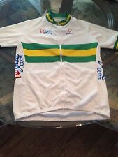 Nalini Vintage Cycling JERSEY Aussie National Champion Men's Size 3