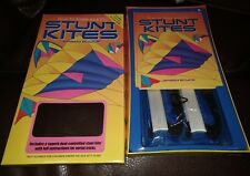 How to Make and Fly Stunt Kites Book Kit Set New Sealed by Jeremy Boyce