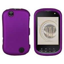 Rubber Dark Purple Rubberized HARD Case Phone Cover Sprint Kyocera Milano C5120