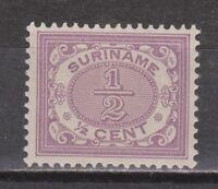 Suriname nr 41 MLH ongebruikt Cijfer 1902