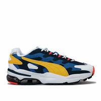 Mens Puma Cell Alien Og Trainers In Galaxy Blue / Sulphur