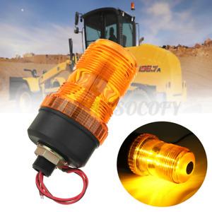 30 LED Flashing Rotating Beacon Flexible Strobe Tractor Warning Lights 10-110V