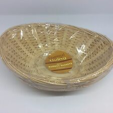 Set of 3 Bamboo Wicker Baskets Gift Potpourri 22
