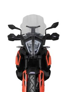 MRA MOTORCYCLE WINDSCREEN FOR KTM 790 ADVENTURE / R & 390 ADVENTURE | CLEAR