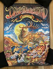 Dave Matthews Band Poster Gorge 2021 Miles Tsang Signed Artist Proof #'d 21/100