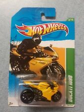 2012 Hot Wheels Ducati 1098R Treasure Hunt Motorcycle- Yellow 52/247