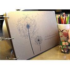 """Dandelion"" DIY Photo Album Baby Mommy Book Wedding Album Gift Xmas"