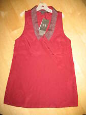 Armani Exchange Sleeveless Top Embellished w/Metal Chain-XS-NWT