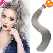 """100S Pre Bonded Keratin Stick I Tip Glue Remy Real Human Hair Extensions 18"""" #80"""