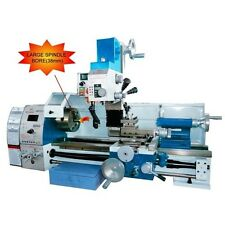 """Weiss WMP290VF-FNEW 11"""" x 28"""" Metal Lathe Milling Machine DRO Frequency inverter"""