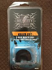 New Turkey Mouth Call Triple Three Reed Reality Series Killer Cut Hunting Piece