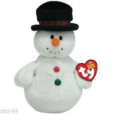 "Coolston the Snowman 7"" Ty Beanie Baby Retired Mint Birthday Jan.15,2007 w tag"