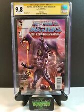 HE-MAN MASTERS OF THE UNIVERSE #1 CGC SS 9.8 WILKINS SKELETOR VARIANT SIGNED