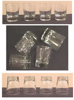 Libbey  Old Fashioned Rocks Whiskey Scotch Glasses Clear 9 oz. Set of 4