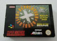 Revolution X Aerosmith- Super Nintendo SNES Game [PAL EUR] CIB  boxed/manual