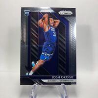 NBA 2018-19 Panini Prizm Rookie Card 37 Josh Okogie Minnesota Timberwolves