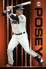 BUSTER POSEY - SAN FRANCISCO GIANTS - POSTER 22x34 MLB BASEBALL 14721