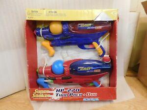 2008 Hasbro Super Soaker XP 270 Twin Pack Duo MIB Water Guns Pistols