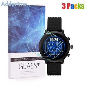 For Michael Kors Access MKGO Tempered Glass Screen Protector 9H Hardness 3 Packs