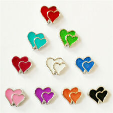 Mixed 10pcs Have mutual affinity floating charm for glass living memory locket